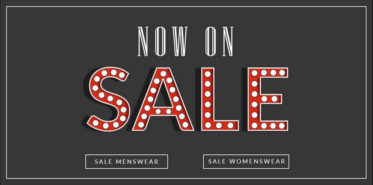 Van Mildert Van Mildert: Sale up to 90% off designer menswear and womenswear