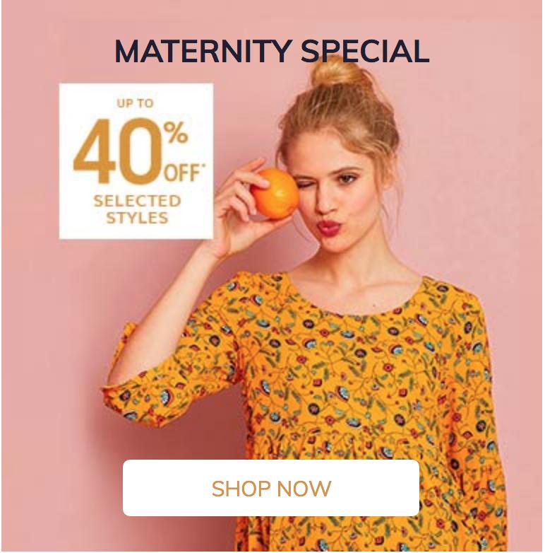 Vertbaudet Vertbaudet: up to 40% off maternity fashion