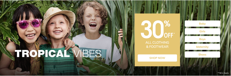 Vertbaudet Vertbaudet: 30% off all children's clothing and footwear