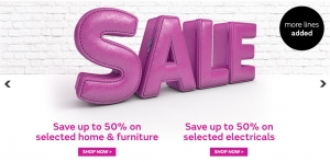 Very: sale up to 50% off on home