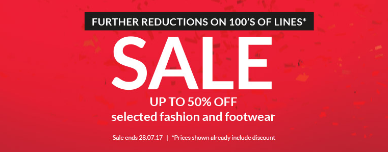 Very Very: Sale up to 50% off selected fashion and footwear