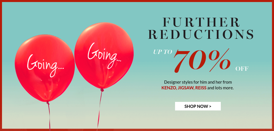 Very Exclusive: Sale up to 70% off designer styles from KENZO, JIGSAW, REISS and lots more