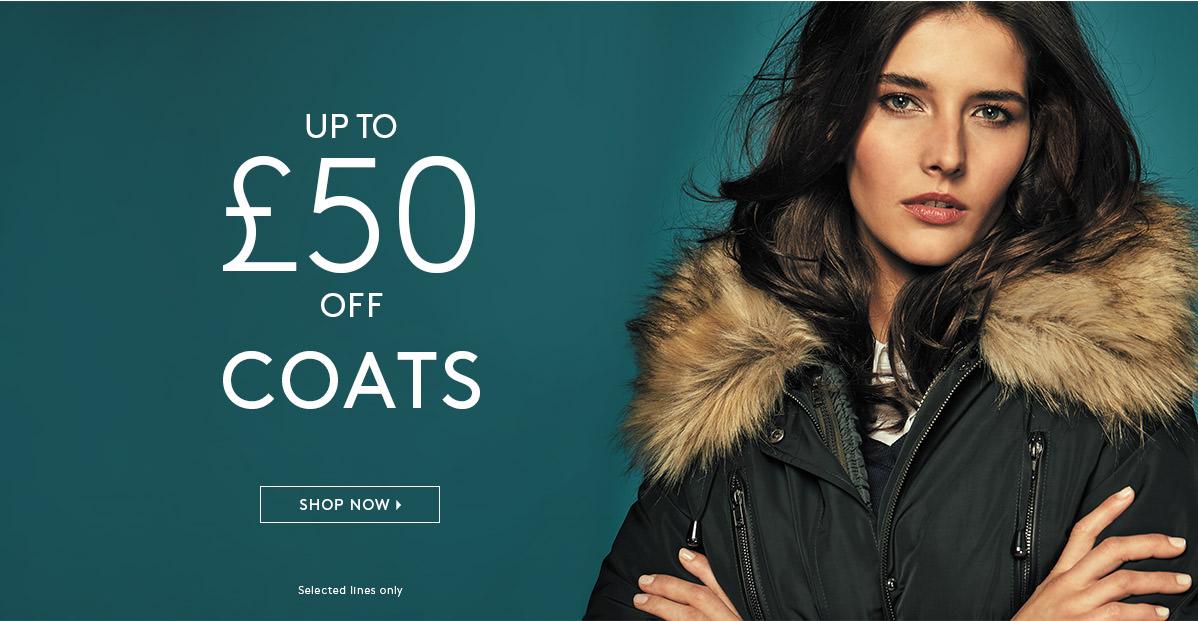 Studio 8: up to 50% off coats