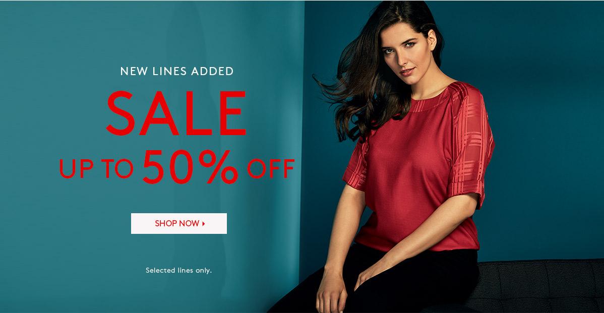 Studio 8: Sale up to 50% off ladies clothing