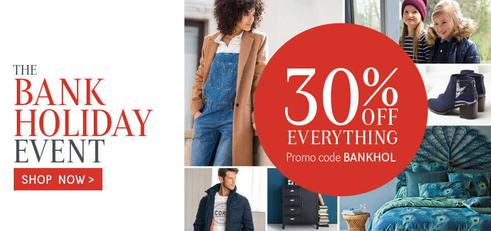 La Redoute: 30% off everything