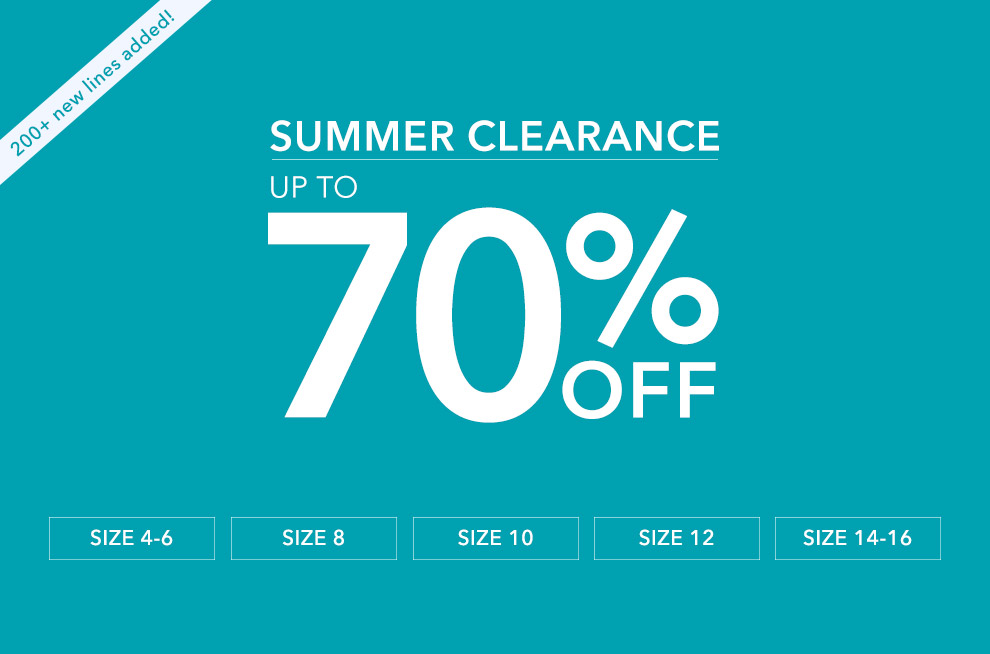 Miss Selfridge: summer clearance up to 70%