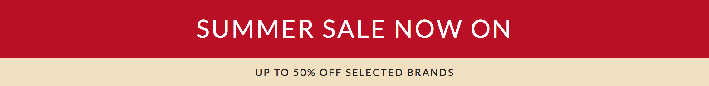 Watch Shop: Sale up to 50% off selected watches brands