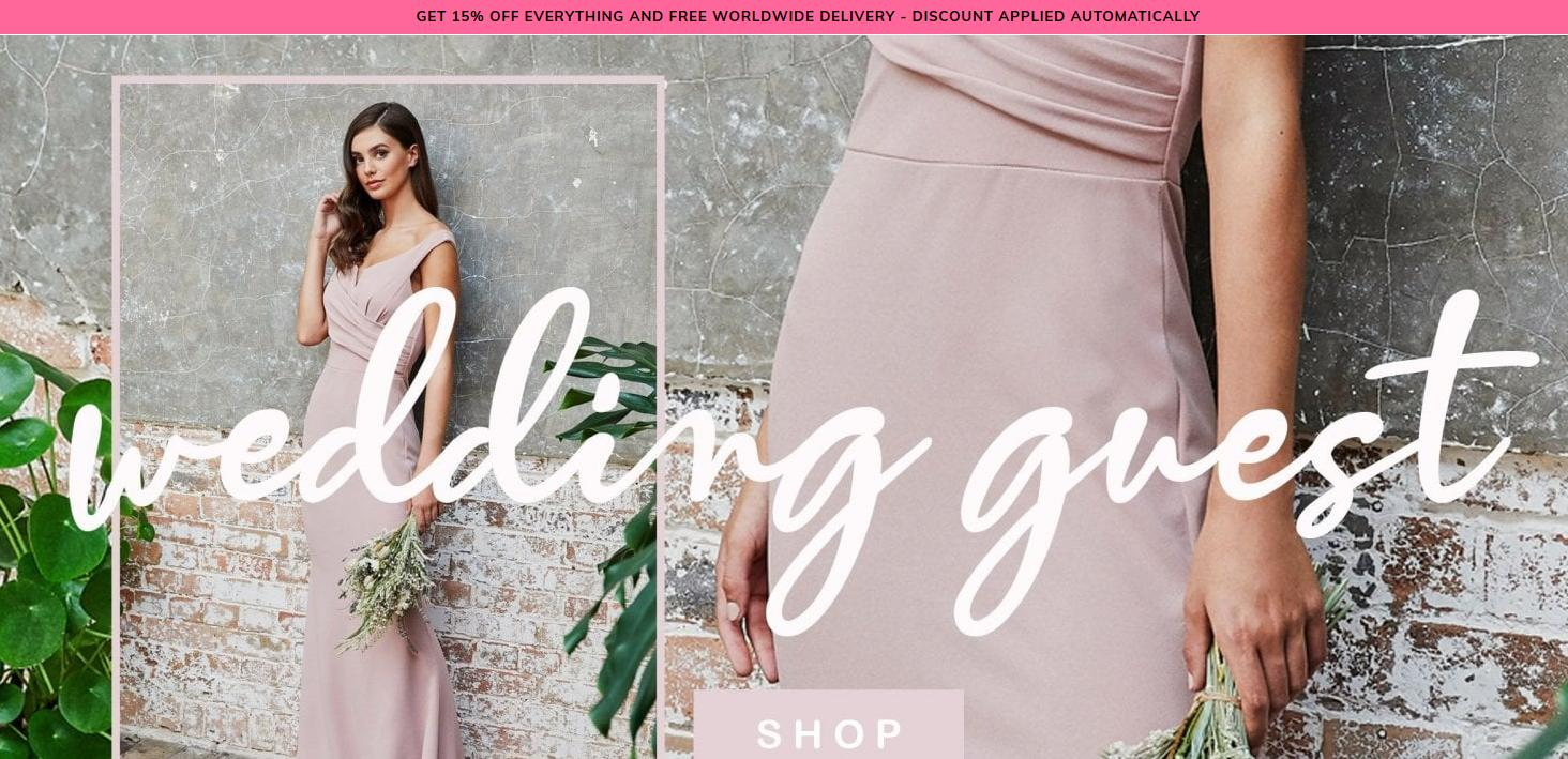 Wal G Wal G: 15% off everything and free worldwide delivery - womens fashion