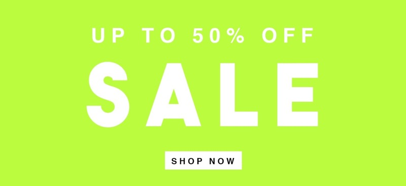 Wal G: Sale up to 50% off women's fashion