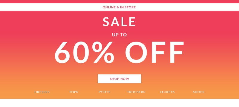 Walktall: Sale up to 60% off women's clothing