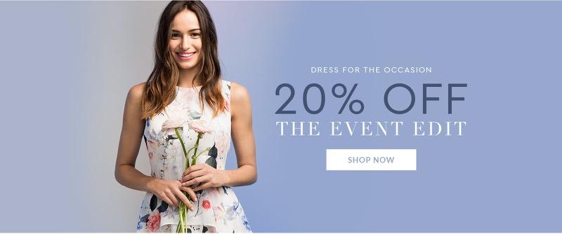 Wallis Wallis: 20% off occasion wear