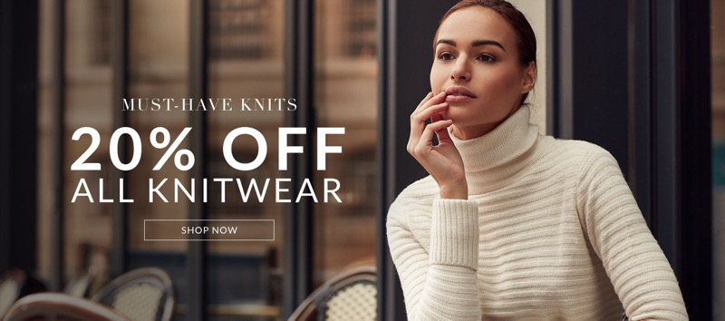 Wallis: 20% off all knitwear