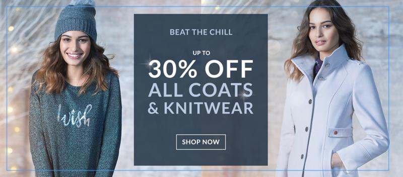 Wallis Wallis: up to 30% off coats & knitwear