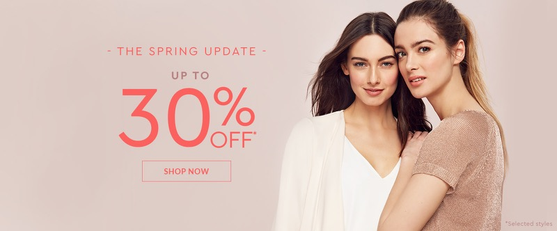 Wallis Wallis: up to 30% off women's clothing