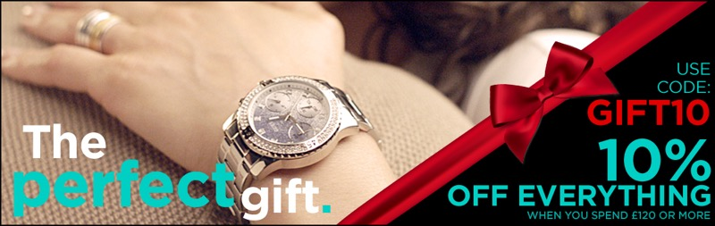 Watch Shop: 10% off watches