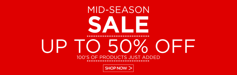 Watch Shop Watch Shop: Mid-Season Sale up to 50% off watches