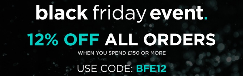 Black Friday Watch Shop: 12% off watches and jewellery