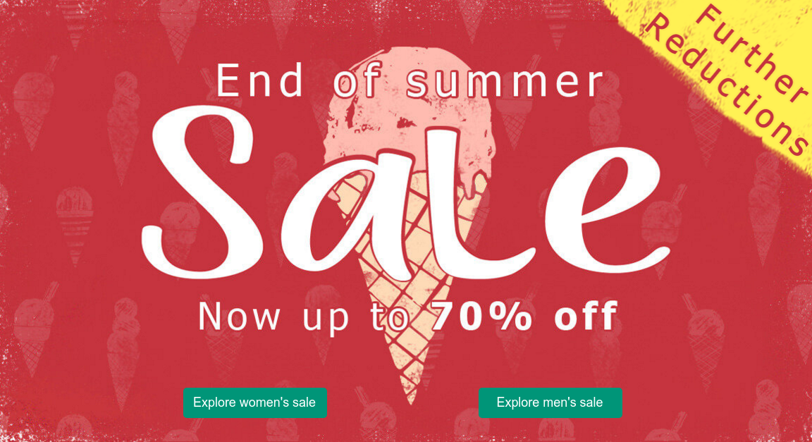 Weird Fish Weird Fish: End of Summer Sale up to 70% off casual clothing for men, women and kids