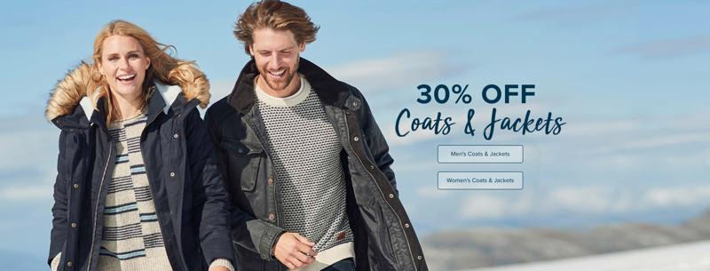 Weird Fish: 30% off coats & jackets