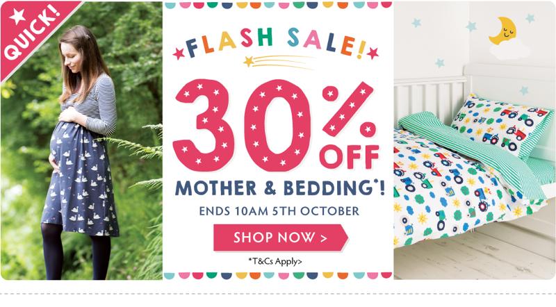 Frugi Frugi: 30% off mother & bedding
