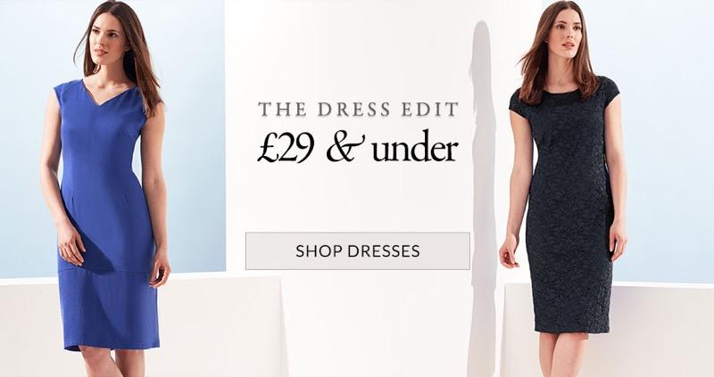 Windsmoor: dresses £29 & under