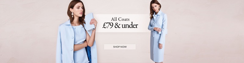 Windsmoor Windsmoor: all coats under £79
