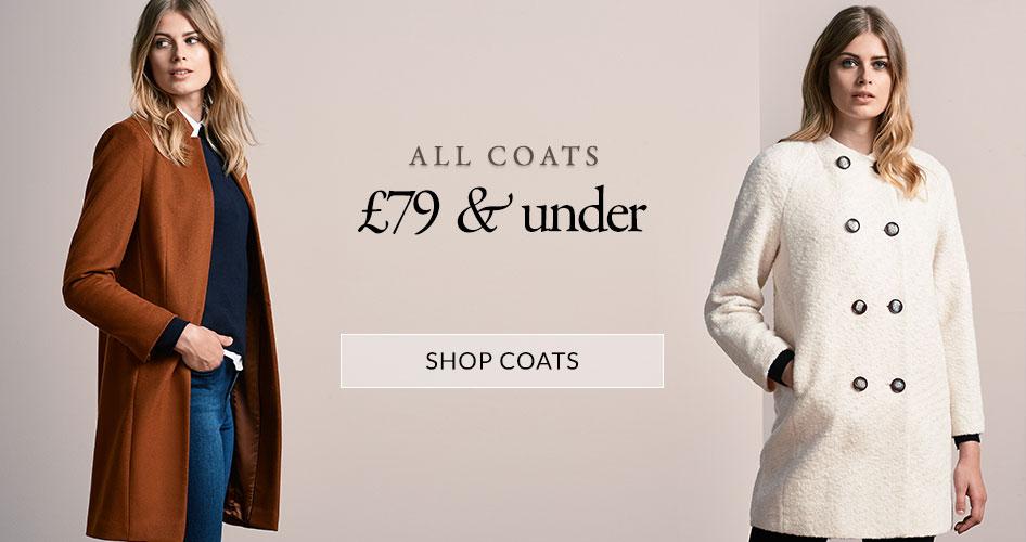 Windsmoor Windsmoor: all coats £79 and under
