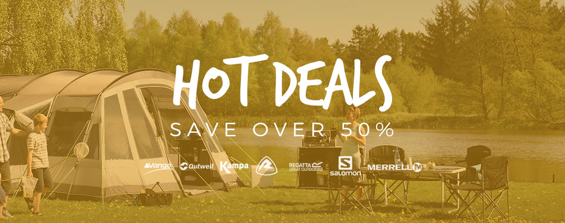 Winfields: Sale over 50% off outdoor clothing, tents and camping equipment