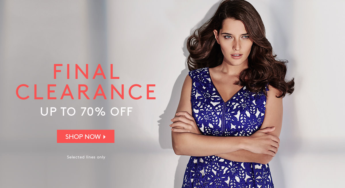 Studio 8: Sale up to 70% off selected women lines