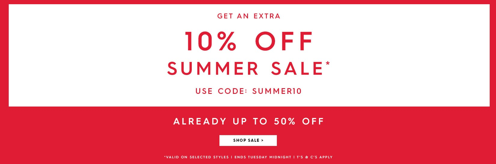 Woolovers Woolovers: extra 10% off summer sale products