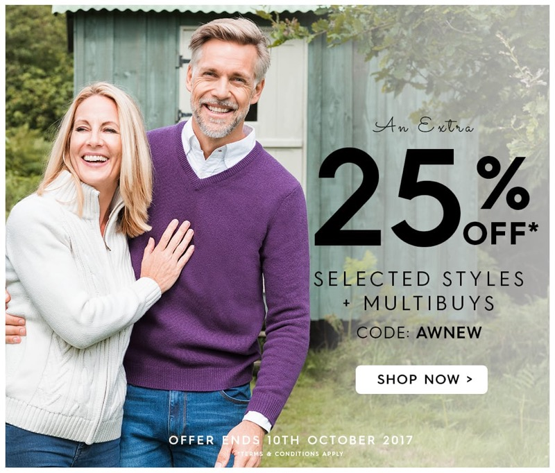 Woolovers Woolovers: 25% off selected womens and mens fashion