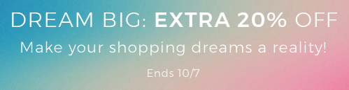 YOOX: extra 20% off off clothing, shoes, bags and accessories