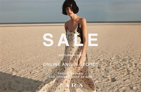 Zara: sale up to 50% off