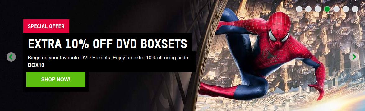 Zavvi: extra 10% off DVD boxsets