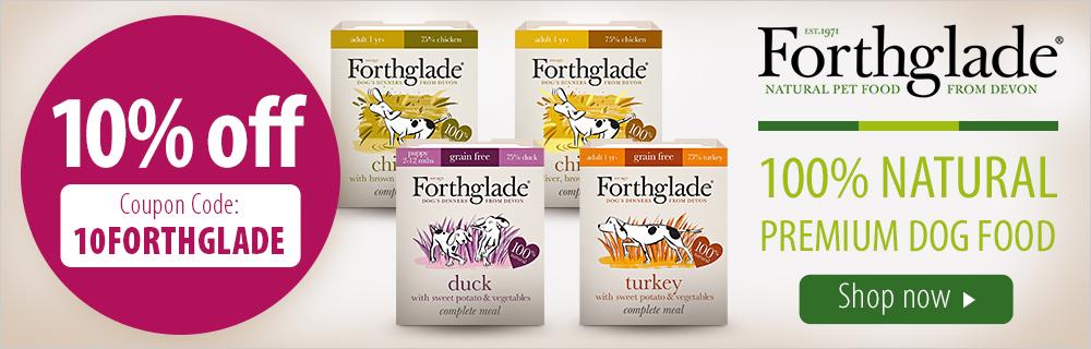 Zooplus: 10% off Forthglade natural premium dog food