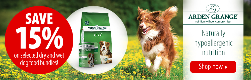 Zooplus: 15% off selected dry and wet dog food bundles from Arden Grange