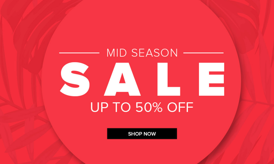 Select Fashion: Mid Season Sale up to 50% off women's clothing