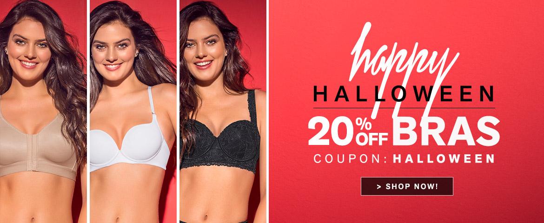 Leonisa: 20% off bras for Halloween