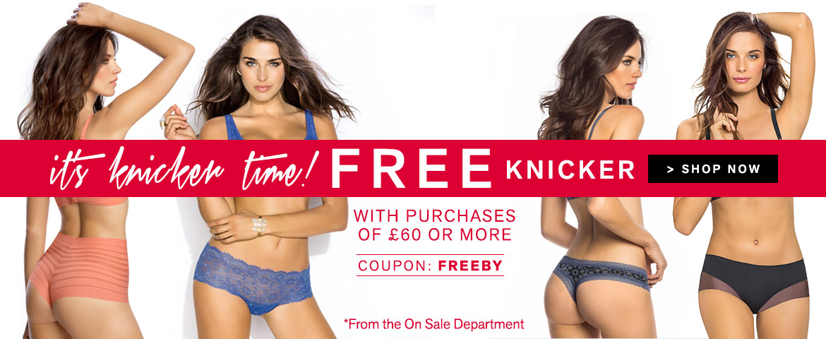 Leonisa: free knicker with purchases of £60 or more