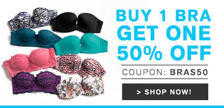 Leonisa: 50% off on second bra