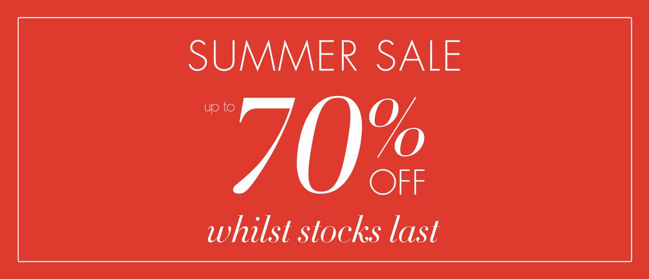 Artigiano: Summer Sale up to 70% off for Italian Fashion and Elegant Clothing