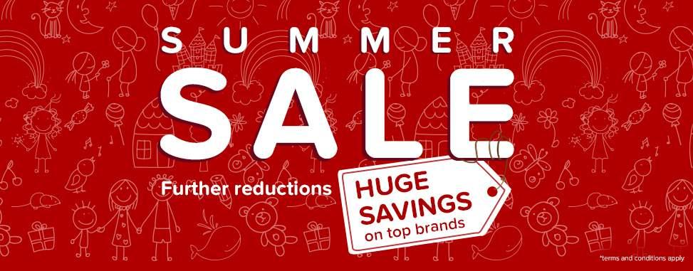 Kiddicare: summer sale up to 30% off