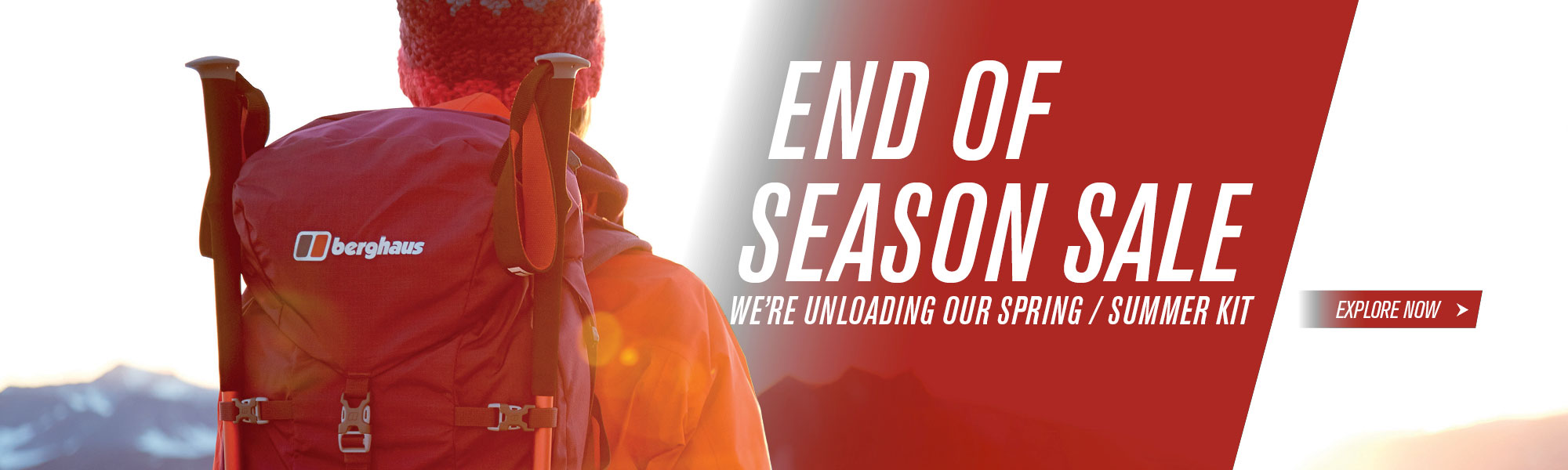 Berghaus: up to 40% off for outdoor clothing and equipment