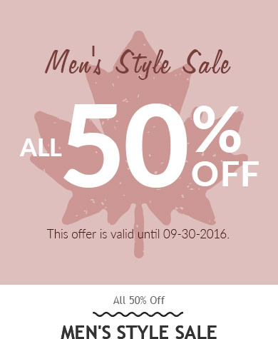 Rosegal: Sale up to 50% off mens clothing
