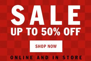 Vans: sale up to 50% off
