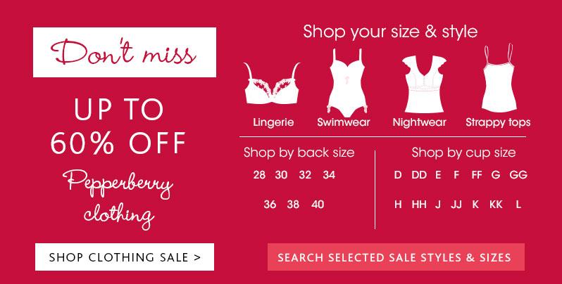 Bravissimo: Sale up to 60% off clothing