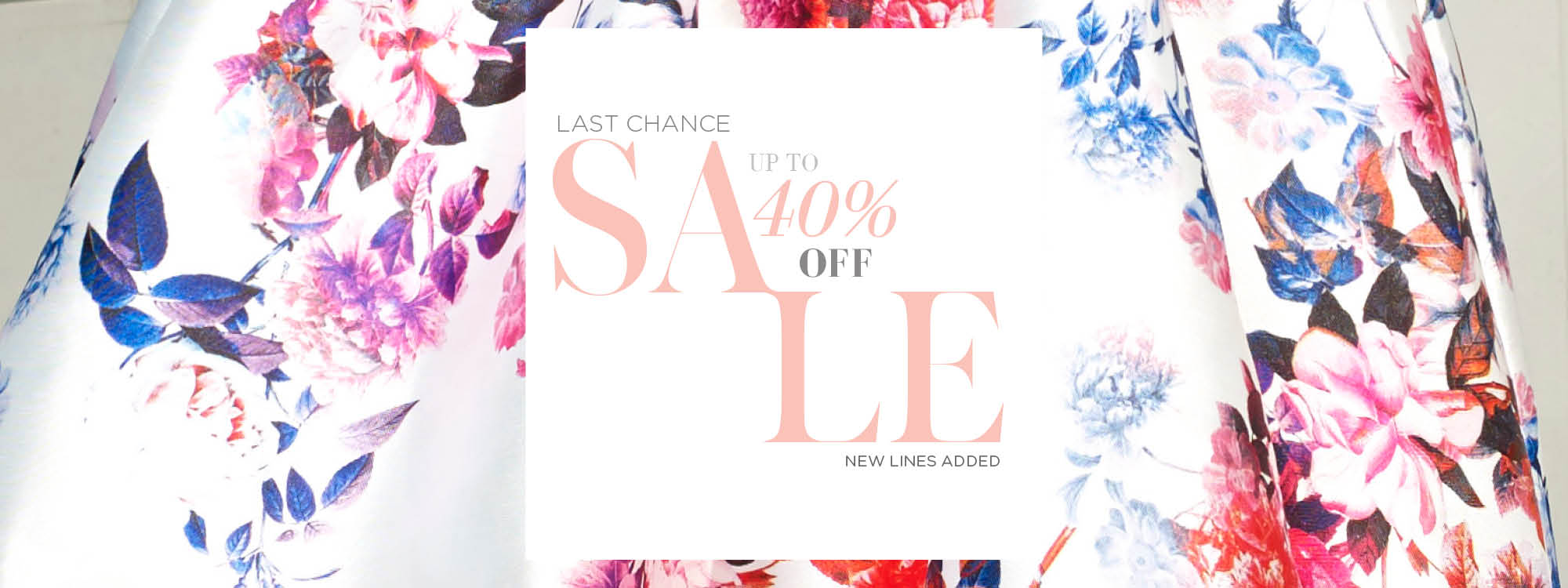 Forever Unique: Sale up to 40% off dresses