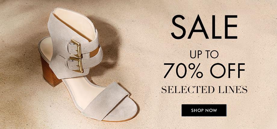 Nine West: sale up to 70% off