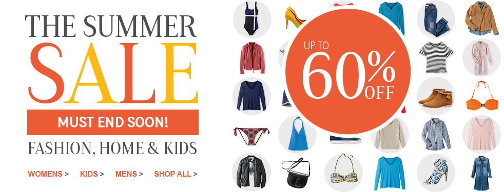 La Redoute: summer sale up to 60% off