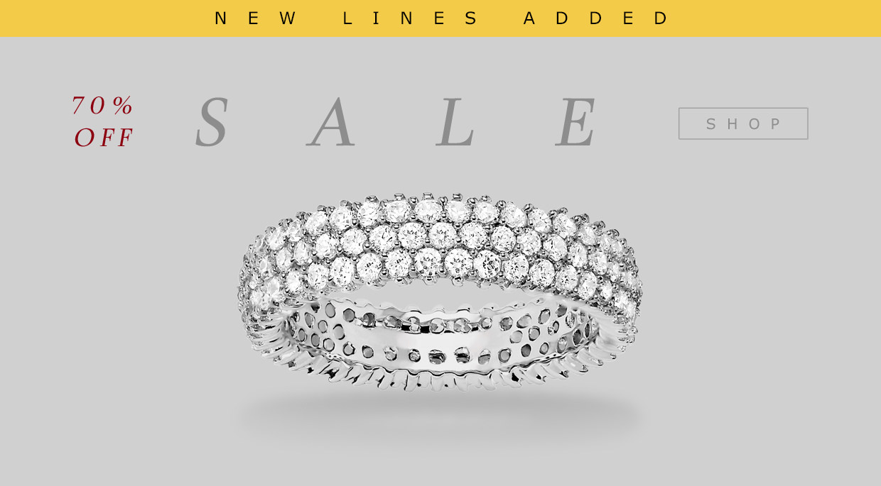 Tresor Paris: Sale up to 70% off jewellery collection